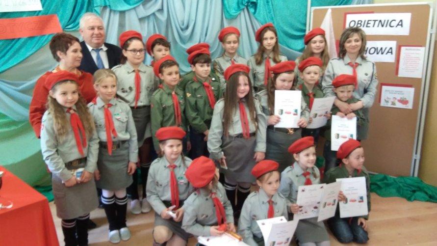 PSP w Pisarach Szkołą Młodych Patriotów