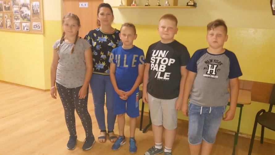 Sukces uczniów Szkoły Podstawowej  w Lasocinie w ogólnopolskim konkursie przyrodniczym