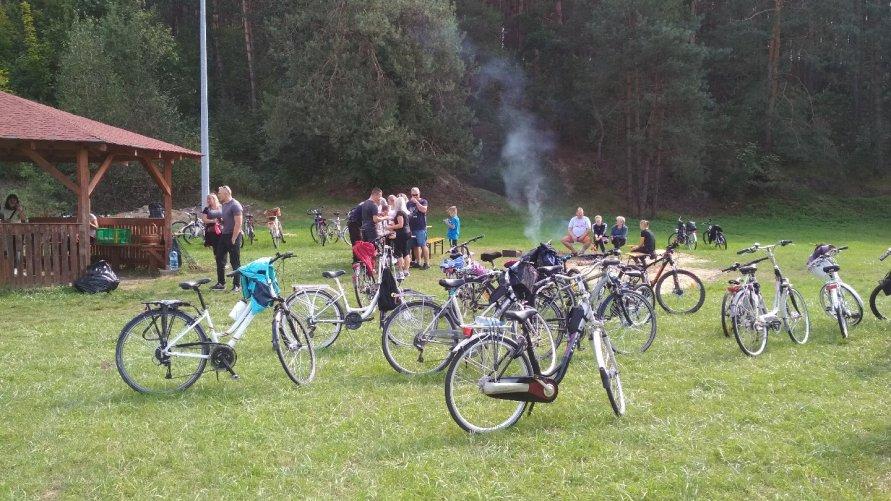 IX rodzinny rajd rowerowy