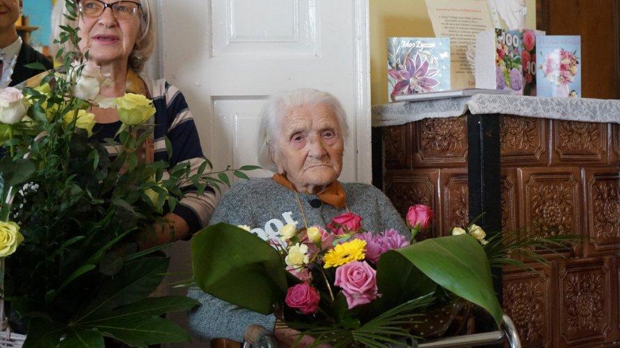 100 lat mieszkanki sołectwa Prusy