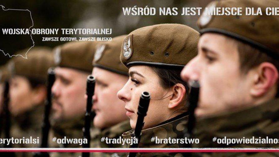 TRWA NABÓR OCHOTNIKÓW DO 102. batalionu lekkiej piechoty WOT w SANDOMIERZU