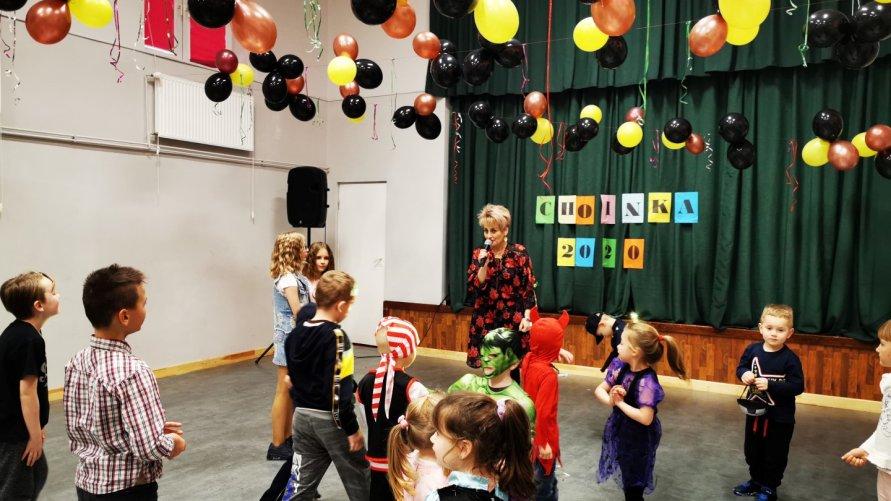 Choinka szkolna w PZSiP w Lasocinie