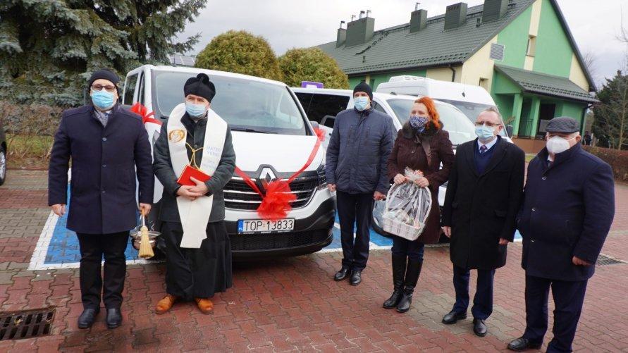 Samochód dla DPS w Sobowie