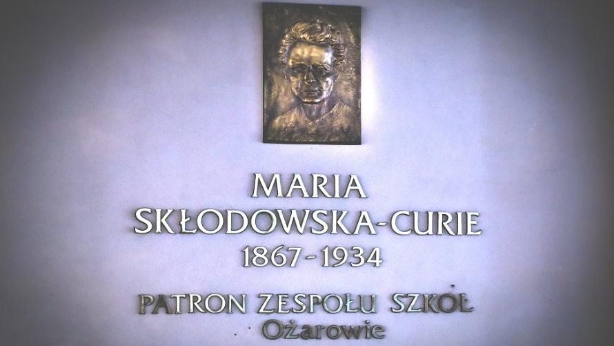 Stypendyści w Zespole Szkół w Ożarowie im. Marii Skłodowskiej-Curie