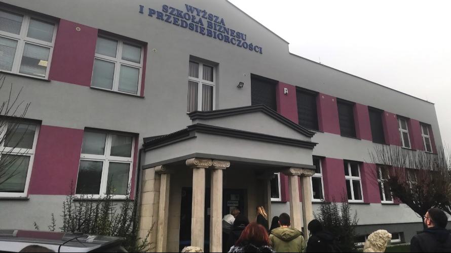 Współpraca ZS im. Skłodowskiej-Curie z WSBiP