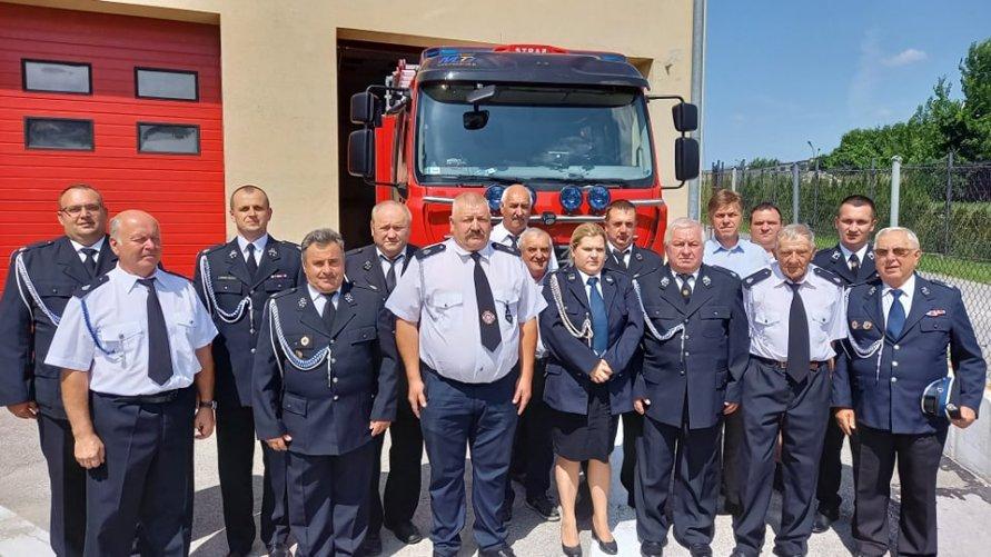 Ostatnie zebranie Zarządu Oddziału Miejsko-Gminnego ZOSP RP w Ożarowie w kadencji 2016–2021