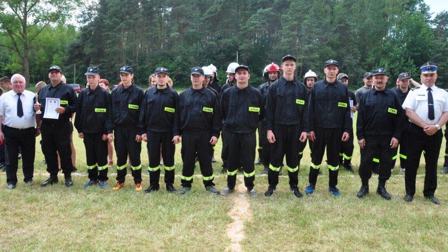 W zawodach strażackich Szymanówka na szczycie