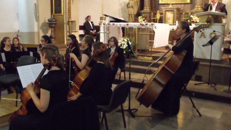 Wielki koncert w sanktuarium