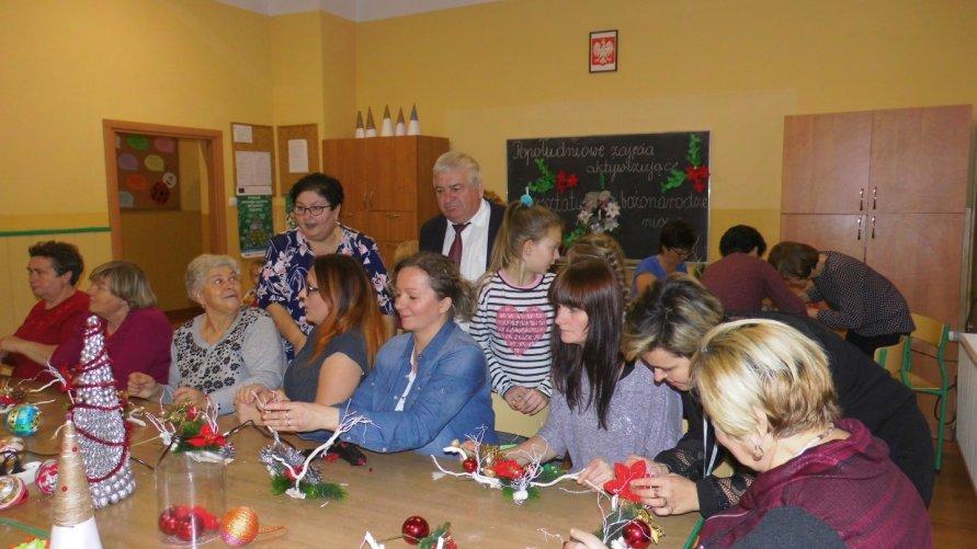 Zajęcia aktywizujące w PZSiP w Lasocinie