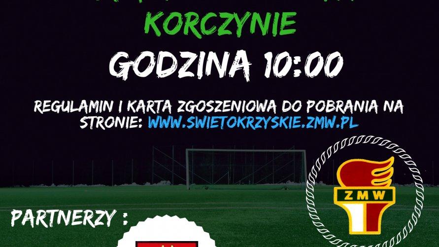 Turniej piłki nożnej - III Świętokrzyska Liga ZMW