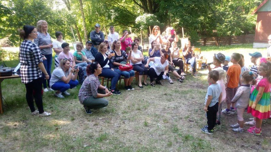 Dzień Dziecka połączony z Dniem Mamy - ŚDS, PZSiP w Lasocinie - 25.05.2018