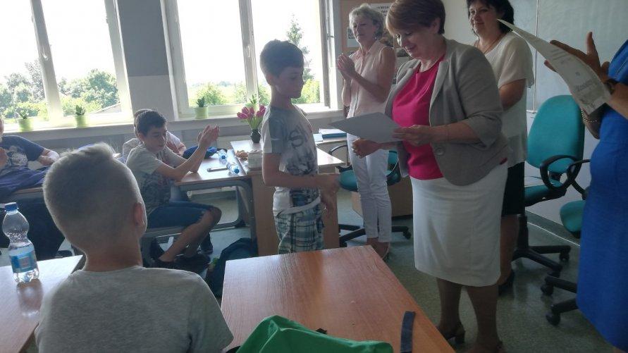 Konkurs mitologiczny w Szkole Podstawowej w Janowicach