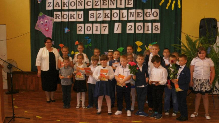 Uroczyste zakończenie roku szkolnego 2017/2018 w PZSiP w Lasocinie