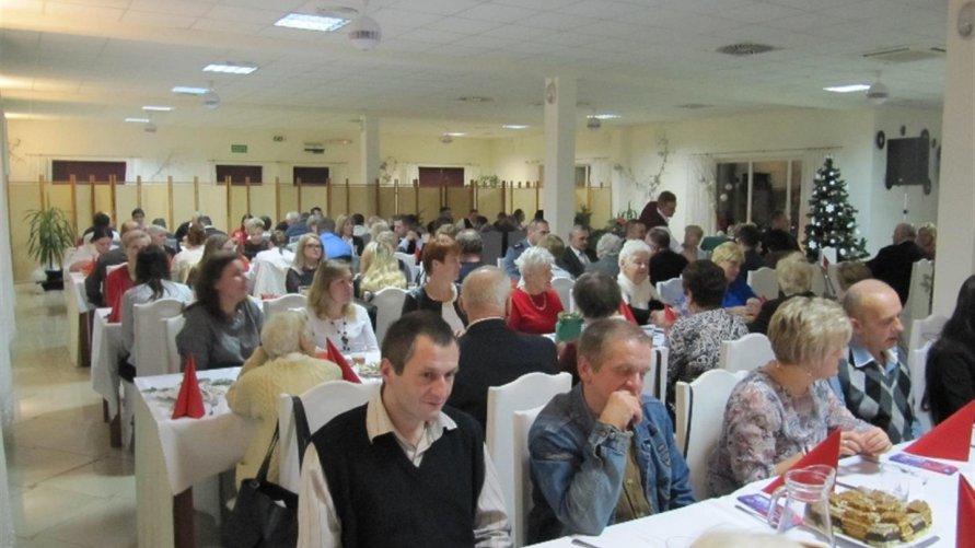 Wigilia integracyjna dla mieszkańców gminy