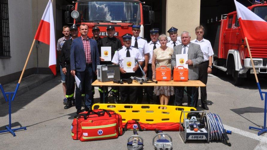 Doposażenie jednostek Ochotniczych Straży Pożarnych w Gminie Ożarów
