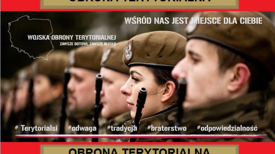 Obrona Terytorialna - Spotkanie zapoznawcze z możliwym naborem.