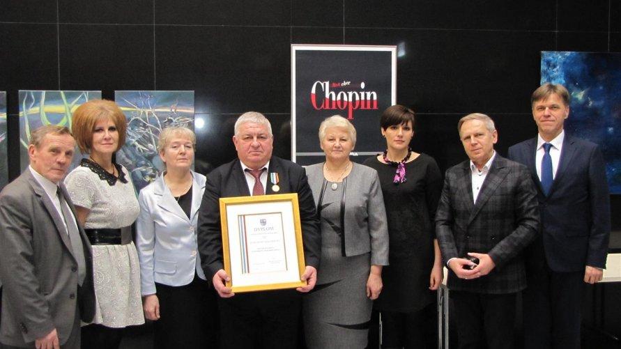 Odznaka Honorowa Województwa Świętokrzyskiego dla Marcina Majchera