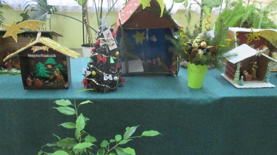Konkurs na najładniejszy stroik oraz na  szopkę  bożonarodzeniową