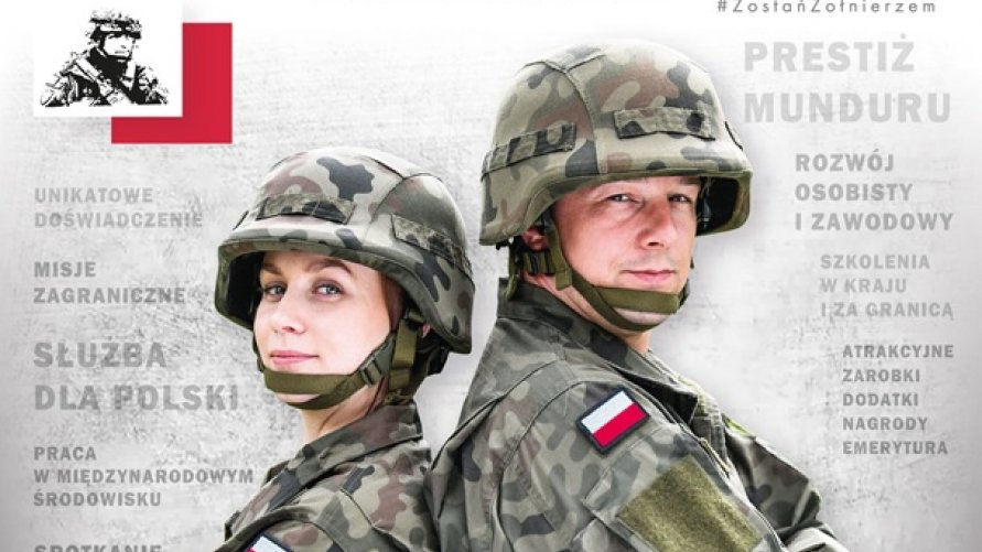 Zostań Żołnierzem Rzeczypospolitej Kliknięcie w obrazek spowoduje wyświetlenie jego powiększenia