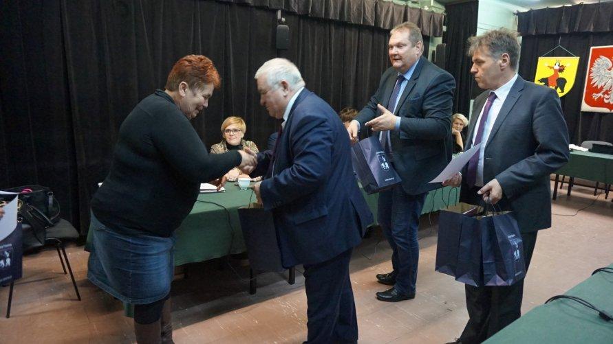 Burmistrz podziękował sołtysom za współpracę Kliknięcie w obrazek spowoduje wyświetlenie jego powiększenia